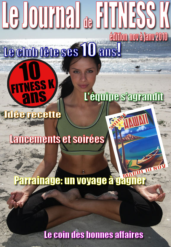 couverture journal Fitness K
