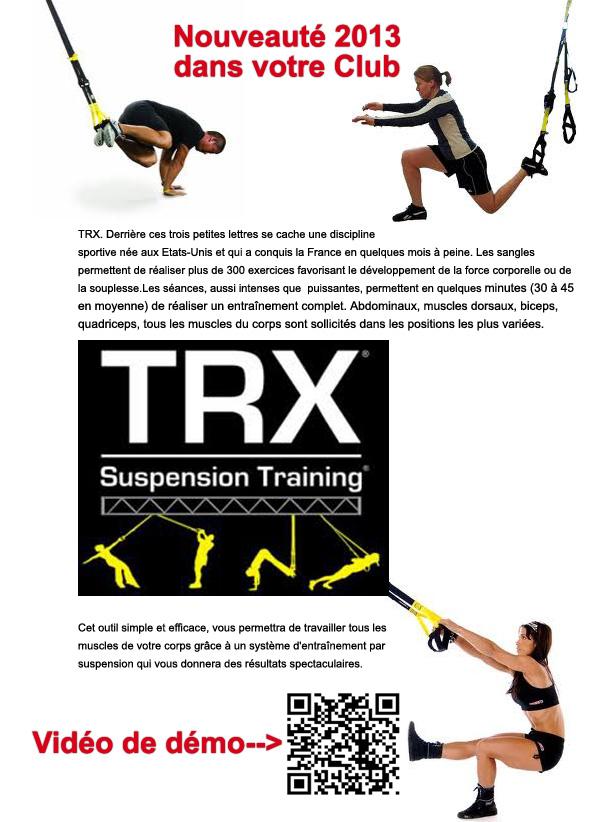 Nouveauté: TRX