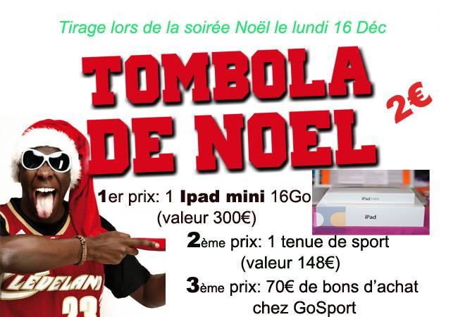 TOMBOLA NOEL